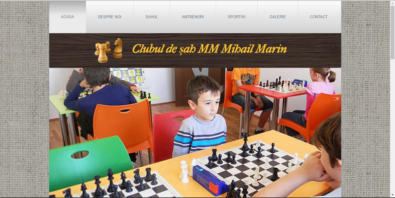 Sah pentru copii - concurenta - Club sah M.M Mihail Marin